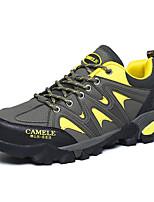 Unisex Sneakers Spring / Fall Comfort Fabric Casual Flat HeelGreen / Purple / Khaki Sneaker