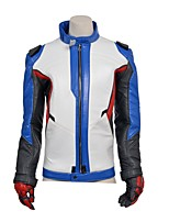 New Arrival Soldier 76 Cosplay Costume Game Cos for Men's Jacket Coat Adult Halloween Cosplay Costume