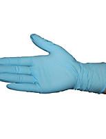 одноразовые синий нитрила латексные перчатки размер м (1 100 коробок (50 пар))