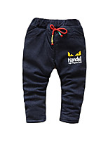 Boy Casual/Daily Solid Pants-Cotton Spring / Fall