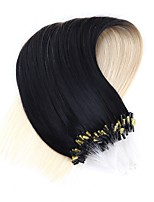 Neitsi 20''50Strands 1g/s Micro Ring Loop Links Hair Extensions 100% Remy Human Hair  T1-60#