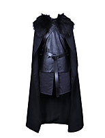 Cosplay Costumes / Masquerade Super Heroes / Soldier/Warrior / Assassin Movie Cosplay Black Solid Top / Pants / Gloves / CloakHalloween /