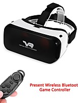Lightweight Design and Adjustable headband Practical 3D Virtual Reality VR Glasses For 3.5 - 5.5 inch smart Phones with Bluetooth Remote control