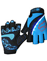 Activity Sports Gloves Cycling Bike Unisex Fingerless GlovesAnti-skidding   Wearable  Shockproof  Breathable