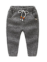 Boy's Casual/Daily Solid PantsCotton Winter / Spring / Fall Red / Gray