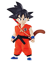 Bola de Dragón Goku PVC 12cm Las figuras de acción del anime Juegos de construcción muñeca de juguete