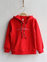 Boy's Casual/Daily Solid Hoodie & SweatshirtCotton Winter / Fall Black / Blue / Red