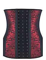 Shaperdiva Women Dobby Latex 9 Steel Boned Underbust Corset Waist Trainer