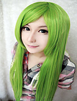 High Quality New Project Kagiyama 39 Inches Long Straight Light Green Cosplay Wig