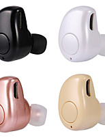 Mini Bluetooth headset i örat Stereo Bluetooth 4.1 headset stealth universell för iphone samsung