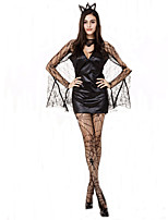 Halloween Vampire Costume Evil Women Bat Costumes for Halloween Party