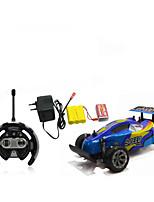 Автомобиль Гоночное судно 566-106 1:10 Коллекторный электромотор RC автомобилей / 2.4G Красный / Синий Готов к использованиюАвтомобиль