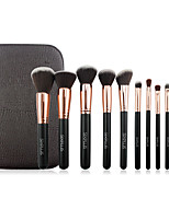 11 Makeup Brushes Set Nylon Professional / Portable Wood Face/Eye / Lip