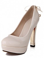 Women's Heels Spring / Fall / Winter Platform / Novelty Synthetic / Patent Leather / LeatheretteWedding / Office & Career / Party &