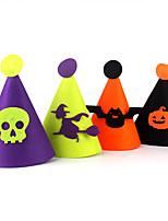 (Couleur aléatoire) hallowmas 1pc chapeau décorer hallowmas partie de costume