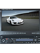 7inch 1DIN LCD touch screen digitale panel auto dvd-speler ondersteuning ipod.bluetooth.stereo radio.gps.touch scherm