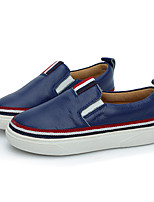 Boy's Loafers & Slip-Ons Others Leather Casual Blue / Yellow / White