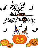 1pc hallowmas adesivos decorar hallowmas festa à fantasia