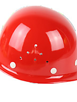 Breathable Plastic Paint Helmets (Red)
