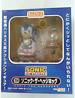 Super Sonic PVC 10cm Anime Action Figures Model Toys Doll Toy 1pc