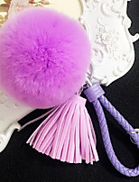 Excellent Rabbit Hair Ball Pendant Plush Fashion Ornaments