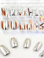 серебряный гвоздь патч поддельные кусочки ногтей из metalpatch 70