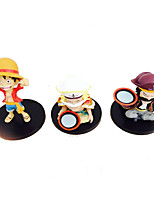 One Piece Cosplay PVC 9cm Anime Action Figures Model Toys Doll Toy Three