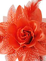 5pcs roses pour costume de halloween couleur aléatoire