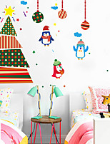 Christmas Home Decor Wall Stickers Funny Party Kids Gift Sticker Shop Store Window