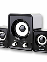 jt2805 ordinateur combinaison de mini haut-parleur 2.1 usb voiture subwoofer audio