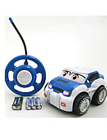 Car Racing 566-11A 110 Brush Electric RC Car / 2.4G Red Ready-To-Go Remote Control Car
