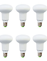 6W E14 Lâmpada Redonda LED R50 10 SMD 5630 210-240 lm Branco Quente / Branco Frio Decorativa V 6 pçs