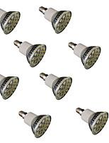 3W E14 / GU10 / E26/E27 Spot LED MR16 27 SMD 5050 300 lm Blanc Chaud / Blanc Froid Gradable / Décorative V 8 pièces