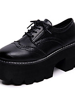 Women's Sneakers Spring / Fall Creepers PU Casual Flat Heel Others Black / Brown Others
