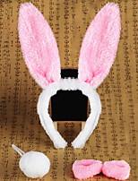Festival Supplies / Halloween Props / Headgear Rabbit Festival Supply For Halloween / Masquerade 3 Pcs