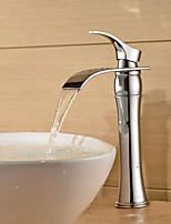 Aquafaucet Unique Bathroom Sink Vessel Faucet Vanity Mixer Tap Oil Rubbed Bronze Lavatory Mixer Tap Brass