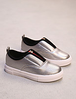 Boy's Loafers & Slip-Ons Comfort PU Casual Black / Silver