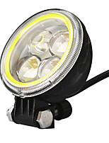Jiawen 3.5Inch 5.5w Round Black Led motorcycle Headlights for Jeep Headlamps (DC 9-48V)