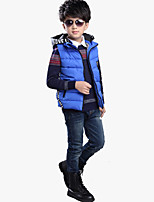 Boy's Casual/Daily Solid VestCotton / Polyester / Spandex Winter Black / Blue / Red
