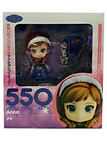 Anna PVC 10cm Anime Action Figures Model Toys Doll Toy 1pc