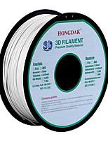 hongdak 3d imprimante 3d filament consommables d'impression matériel (pla abs1.75mm 3.0mm1kg)