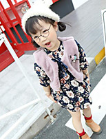 Girl Casual/Daily Floral Sets,Cotton Winter / Fall Long Sleeve Overall & Jumpsuit