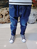 Boy's Casual/Daily Solid PantsCotton Spring / Fall Blue