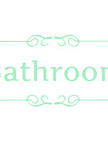 Quote Luminous Sticker Bathroom Decal Glow in the Dark