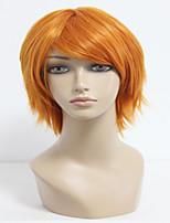 35cm Short Orange The Prince of Tennis-Wakato Hiroshi Cosplay Wig Synthetic Men Party  Anime Wig