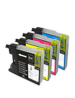 Applicable Brother Mfc-J430W Printer Cartridge Lc400Bk (Compatible)C/M/Y/K