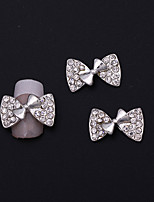 10Pcs Nail Art Act The Role Ofing Is Tasted Sweet Bowknot