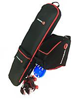 Alles Multifunktions 30L L Ski & Snowboard-Rucksäcke Rot Schwarz