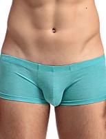 Для мужчин Однотонный Увеличивающий объем / Сексуальные платьяПолиэстер