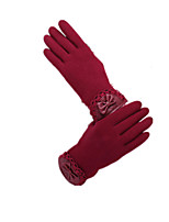 Ladies Lace Cold Winter Gloves